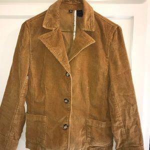 REI soft corduroy casual blazer